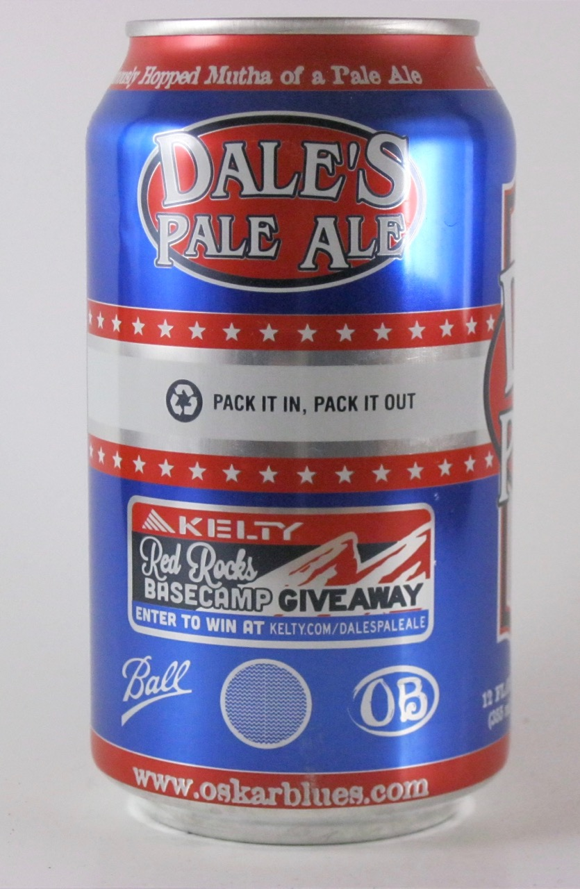 Oskar Blues - Dale's Pale Ale (b/w Red Rocks)