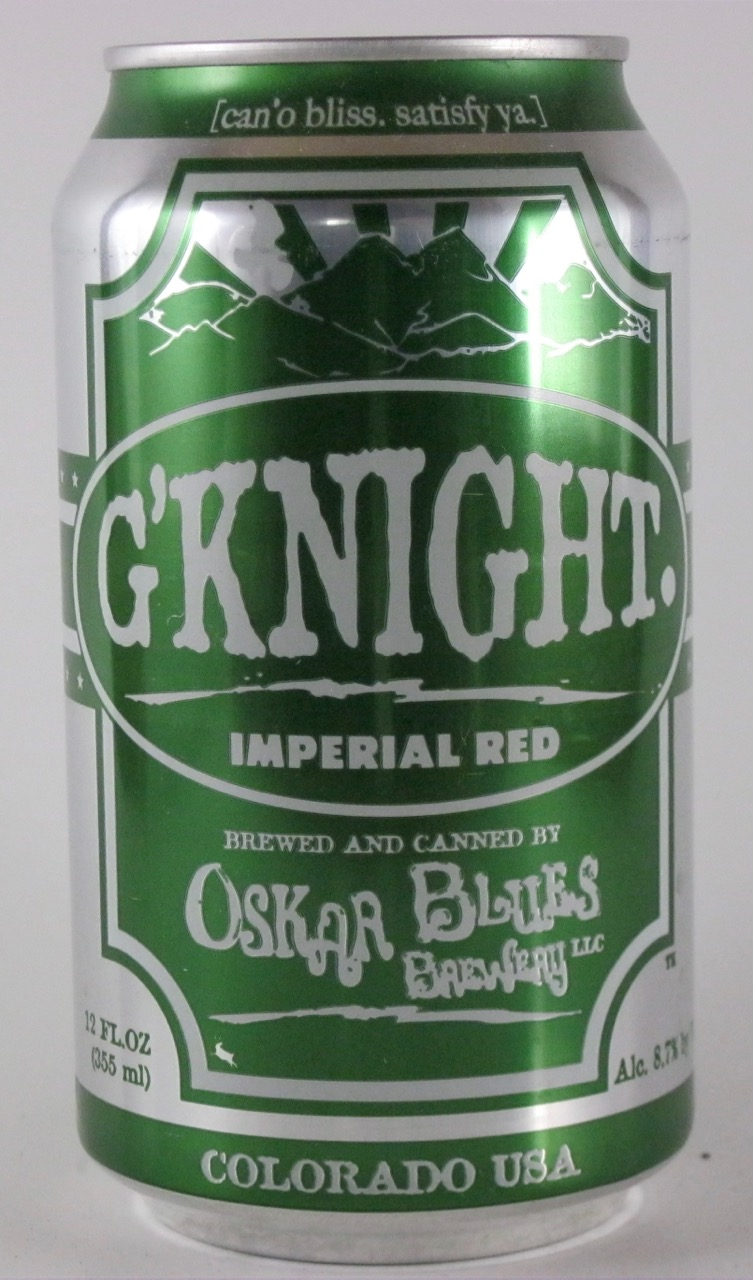 Oskar Blues - G'knight Imperial Red (Colorado)