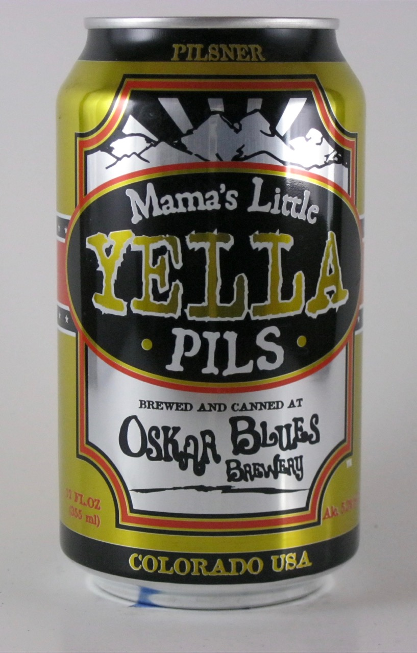 Oskar Blues - Mama's Little Yella Pils (Colorado)