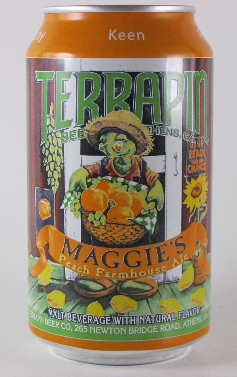 Terrapin - Maggie's Peach Farmhouse Ale