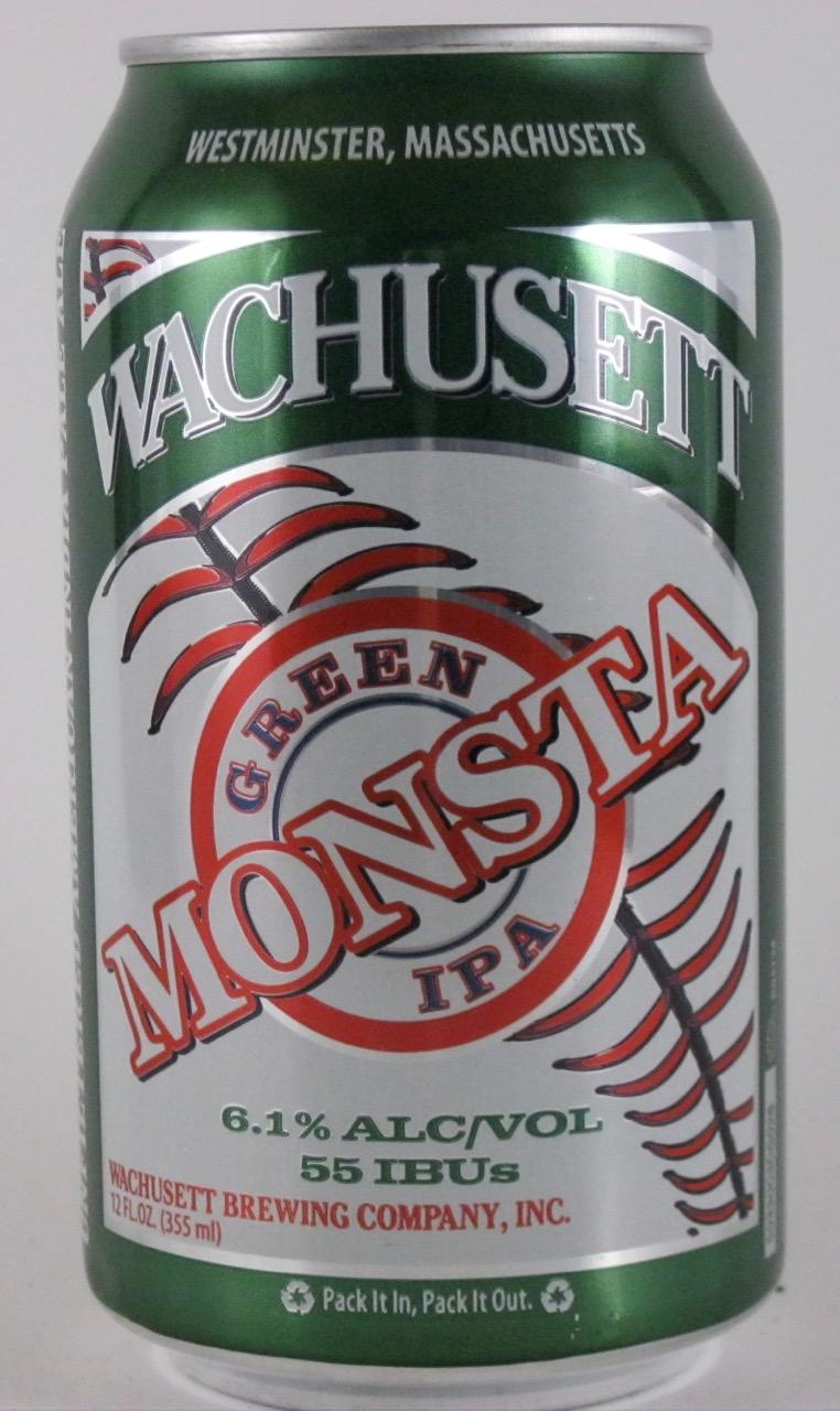 Wachusett - Green Monsta IPA