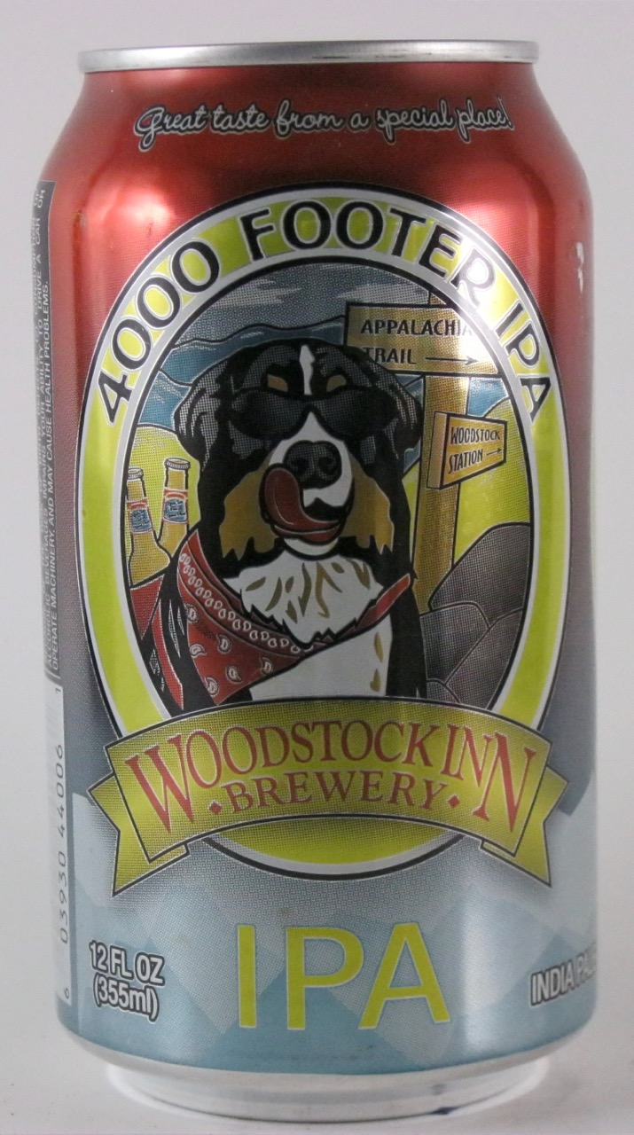 Woodstock Inn - 4000 Footer IPA