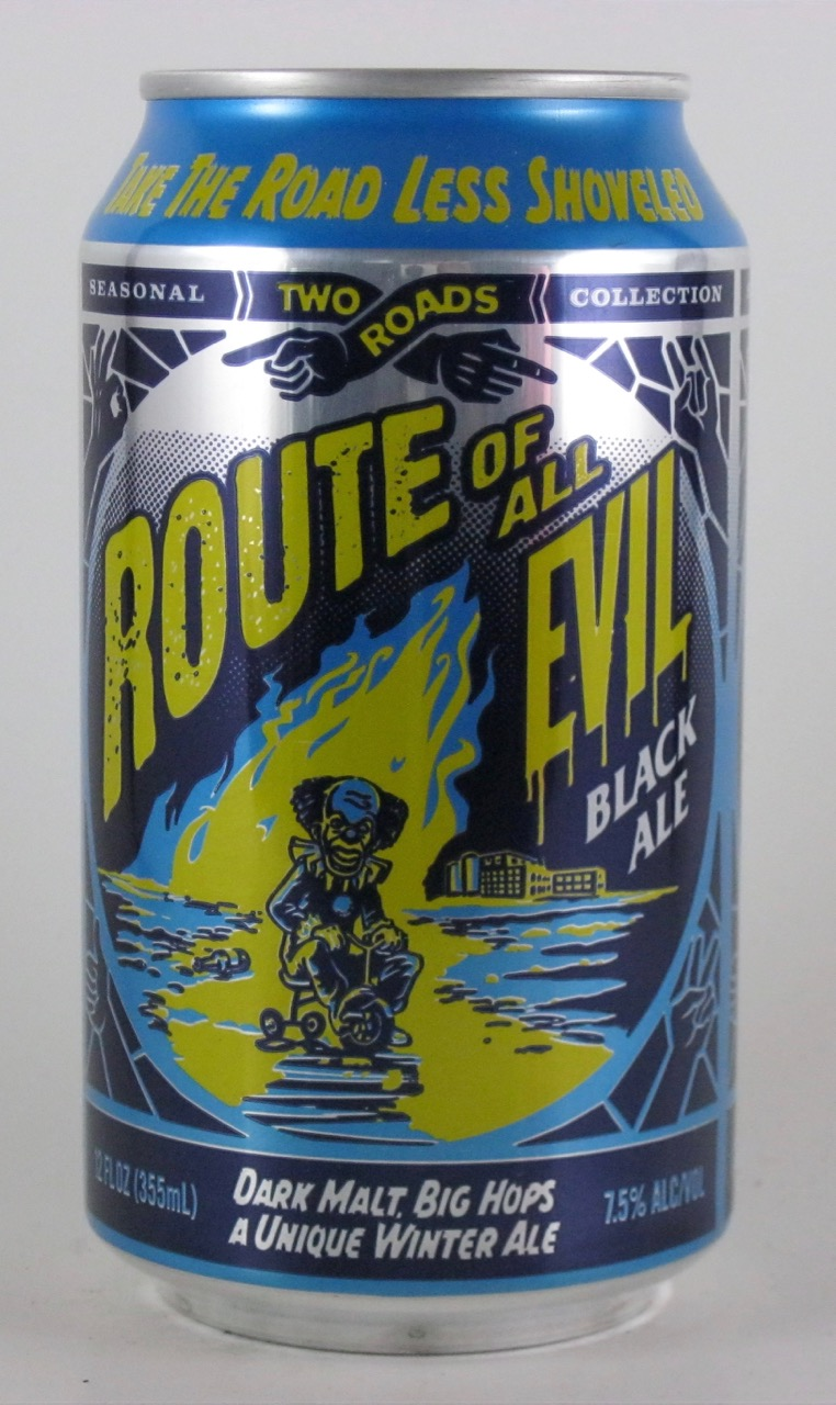 Two Roads - Route of All Evil Balck Ale