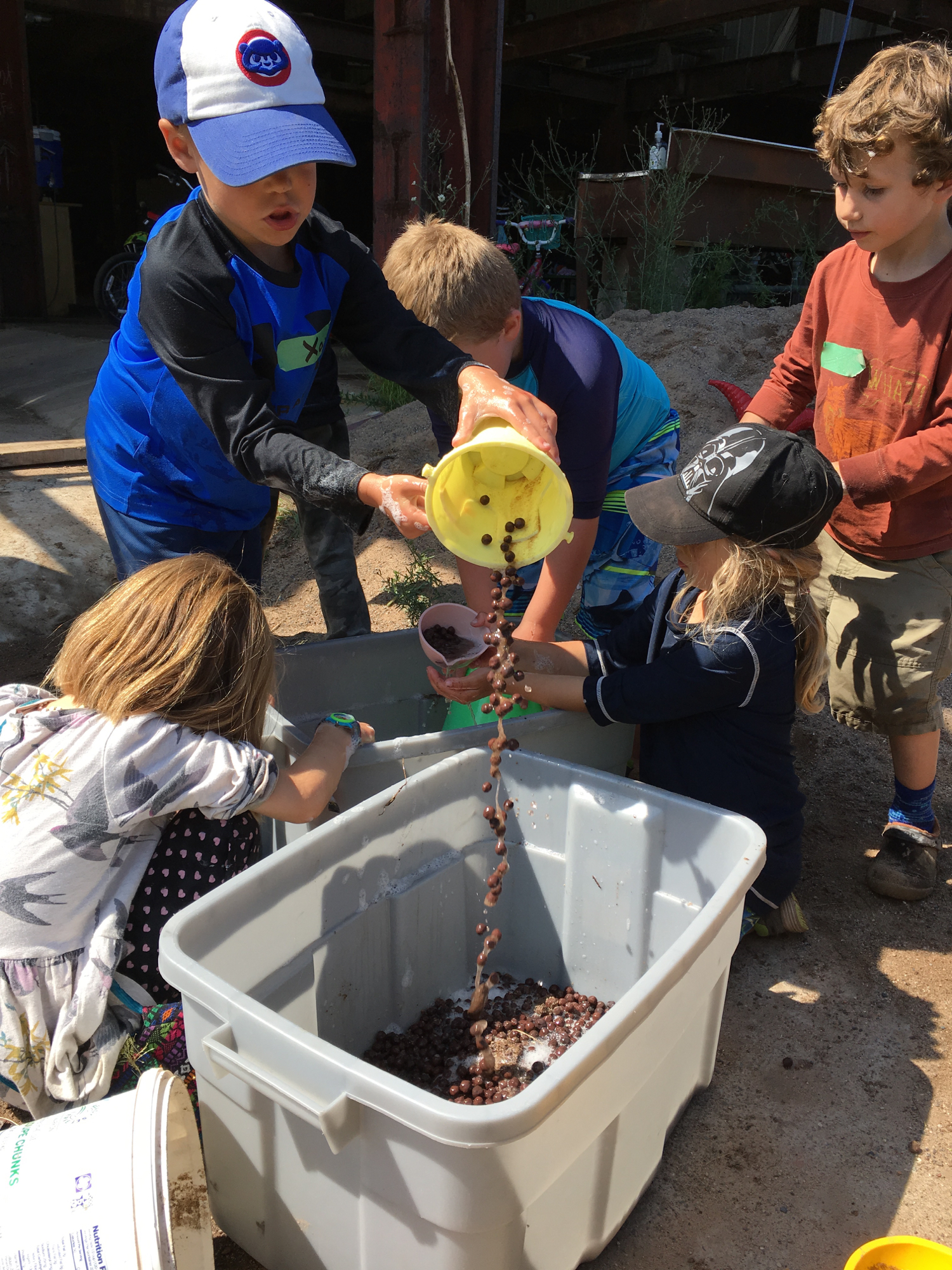 Adventure Building Camp, Week 1, Day 1, 2017