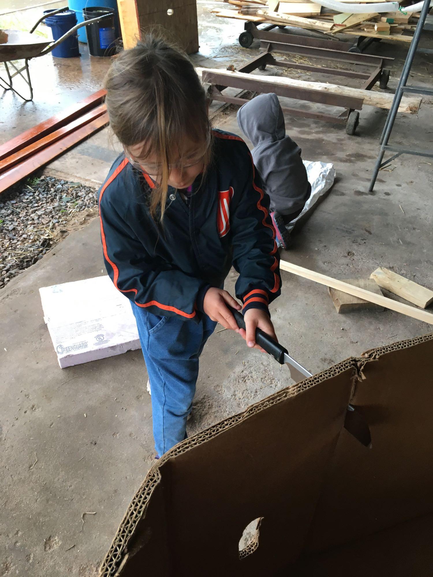 Adventure Building Camp, Week 1, Day 4, 2017