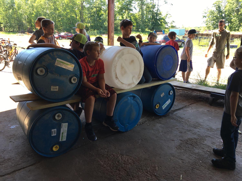 Adventure Building Camp, Week 3, Day 1, 2017