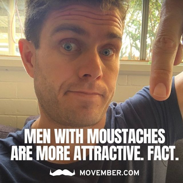 Day 1 of @movember . And a hard hitting fact to begin with. Let's see how attractive my top lip becomes over the coming weeks. I'd love for you to help contribute to my overall goal of $3500. That's less than a dollar per follower.... Also if you want to join my team search upstatestudios and get involved. We are having an awesome end of @movember at the studio. More details as the month progresses Head to the link in my bio to donate or  https://au.movember.com/mospace/9850385?utm_medium=app&utm_source=ios&utm_campaign=share-mospace  @upstate_studios