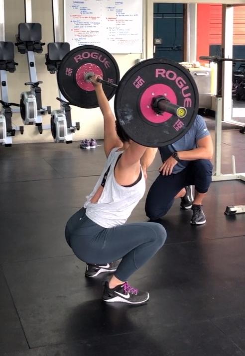 Pain free squatting!