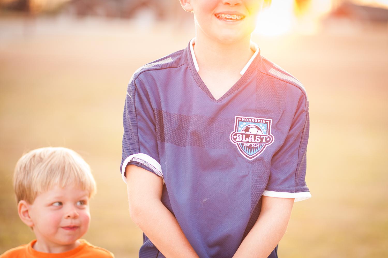Monrovia Blast soccer team jersey | Huntsville photographer