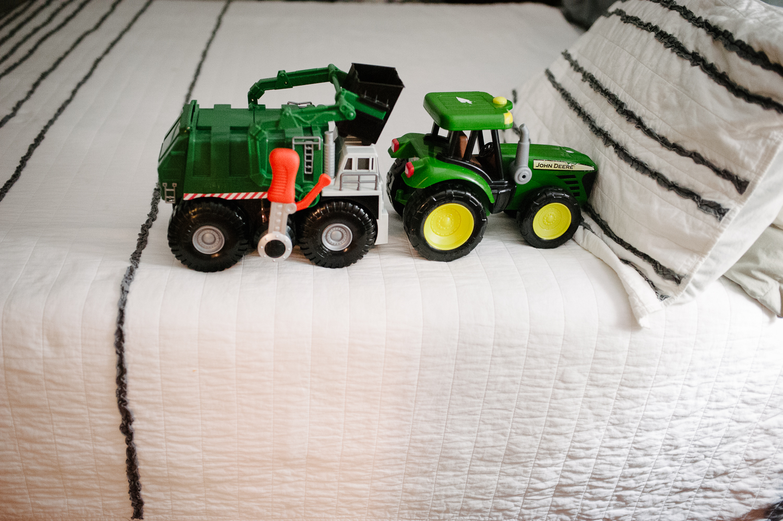 two trucks on bed | Huntsville photographer