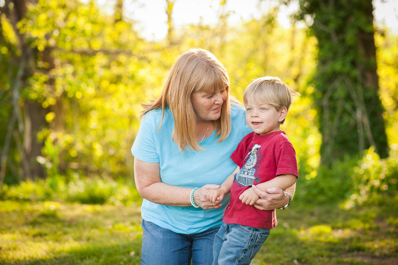 grandmother with grandson | Huntsville photographer