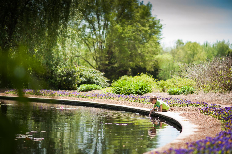 little boy near pond | Huntsville photographer