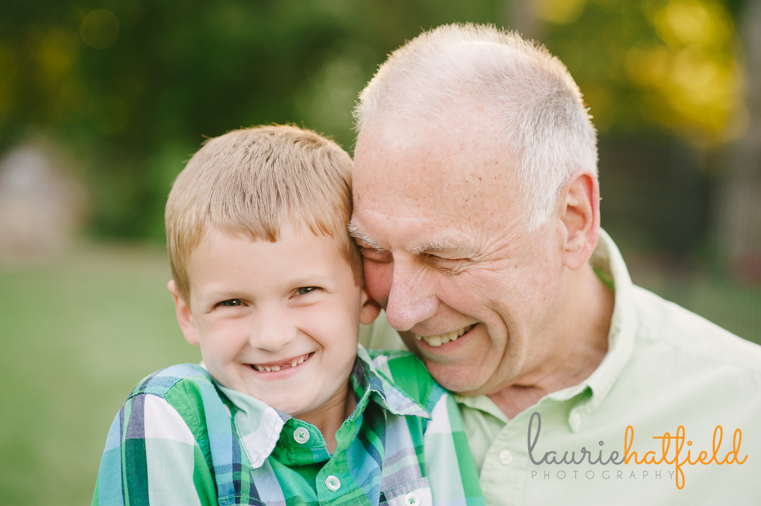 grandfather and grandson | Huntsville photographer