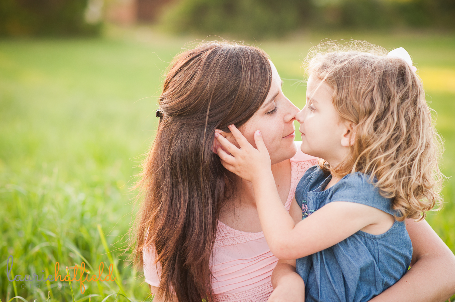 3-year-old girl with mom | Huntsville photographer