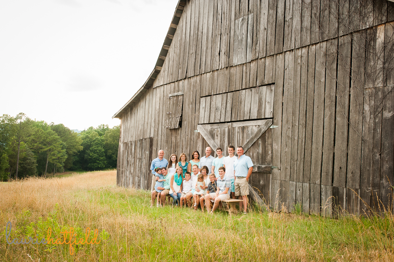 extended family photo | Huntsville photographer