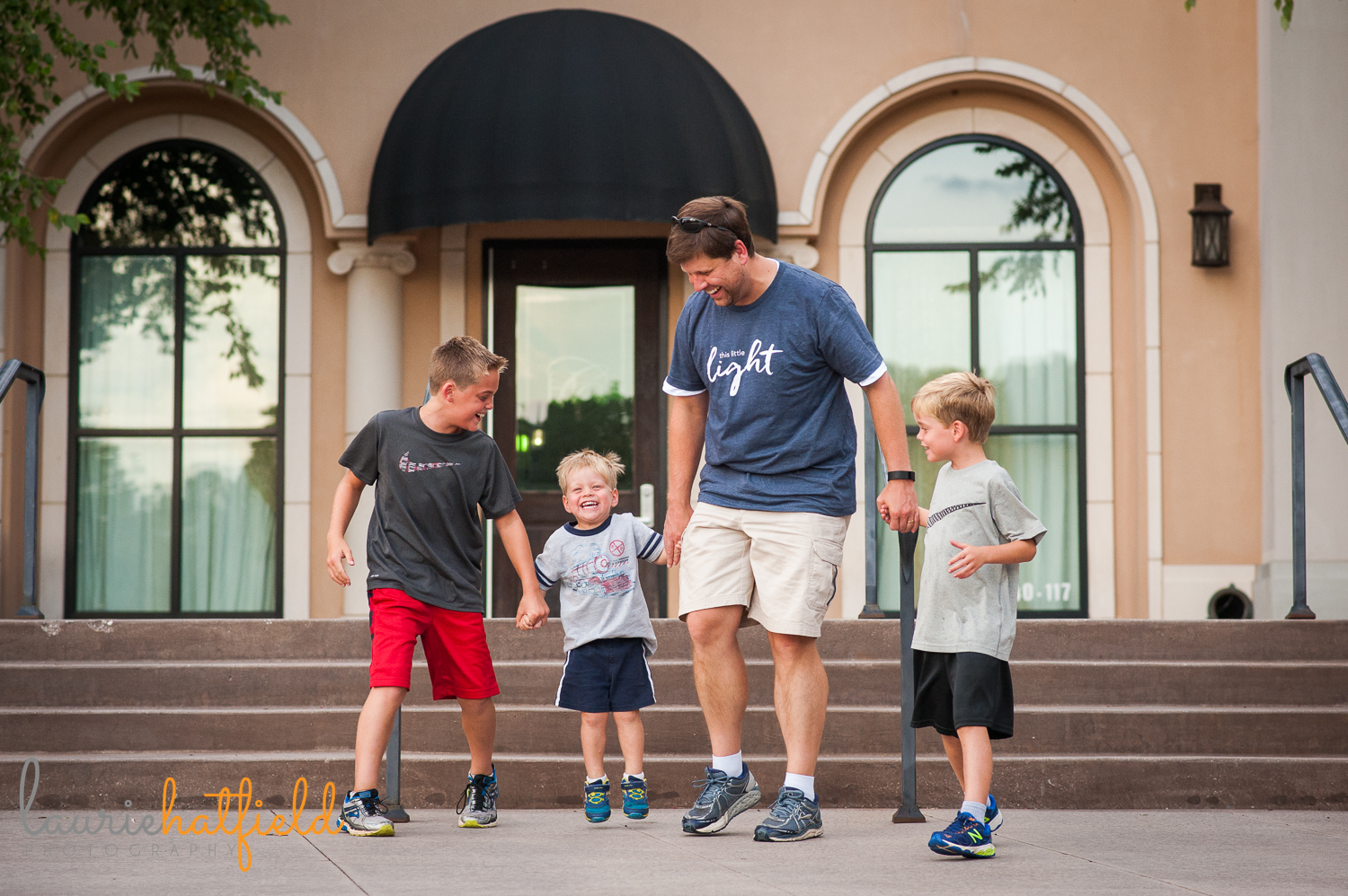 dad with three sons | Huntsville photographer
