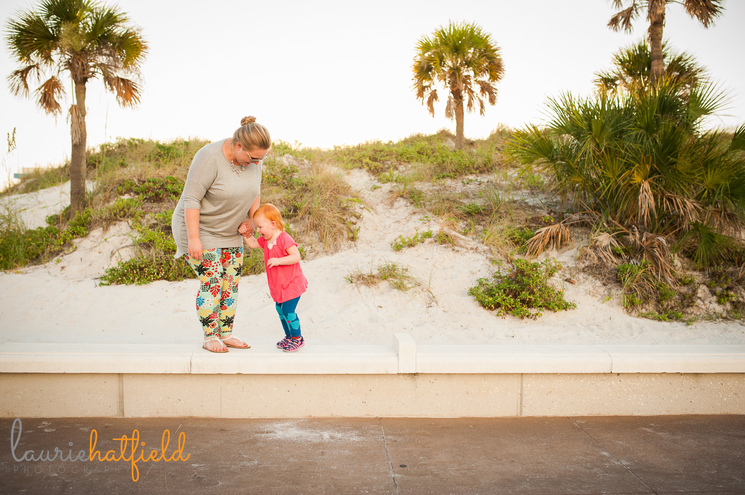 mom and 2-year-old at the beach | Huntsville family photographer