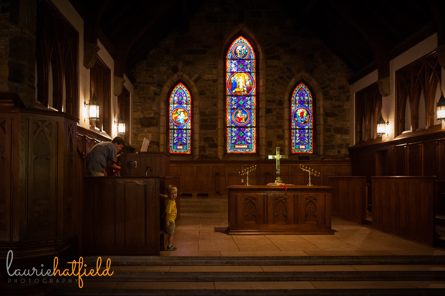 Frost Chapel at Berry College | Huntsville family photographer