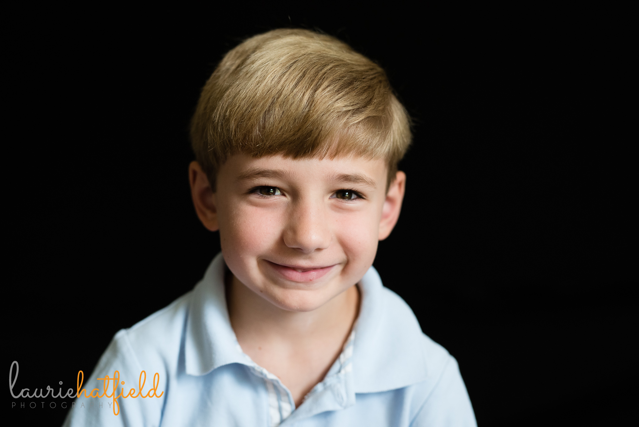 7-year-old school photo | Mobile AL preschool photographer