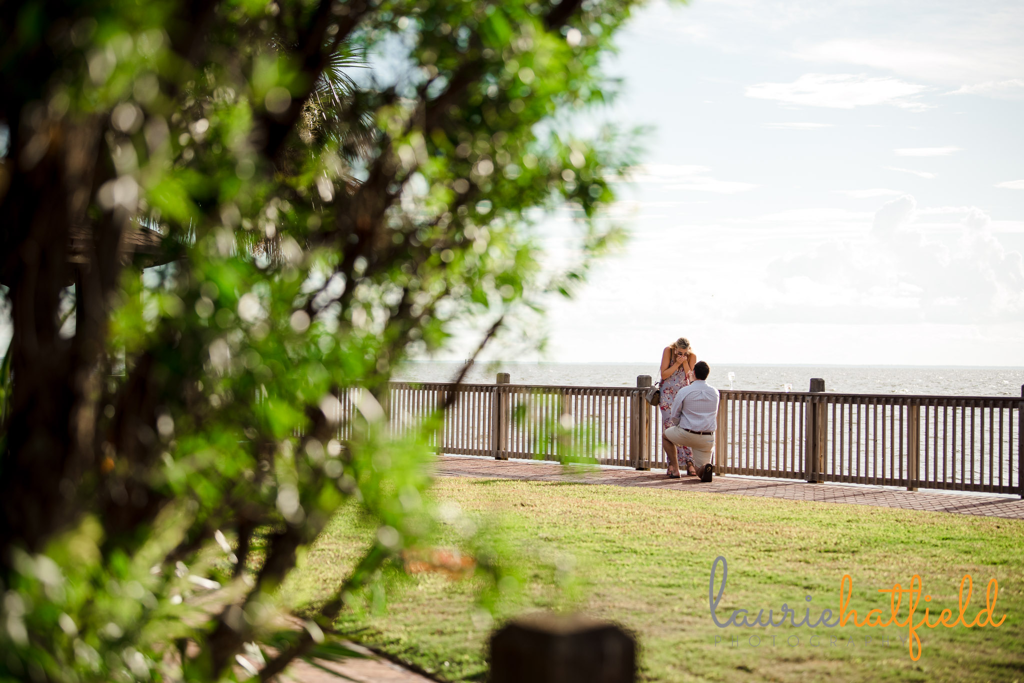 man proposing on one knee | Mobile AL proposal photographer