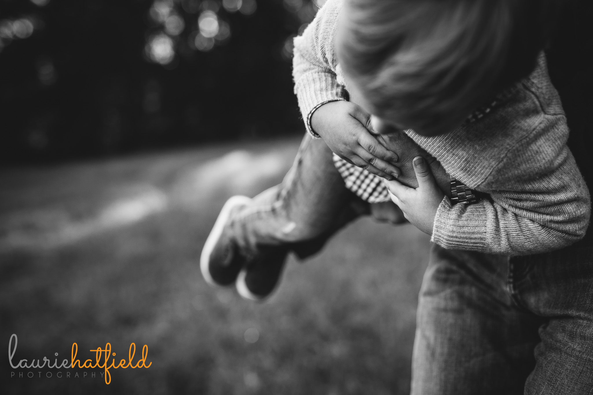 dad carrying 3-year-old son | Mobile AL lifestyle family photographer