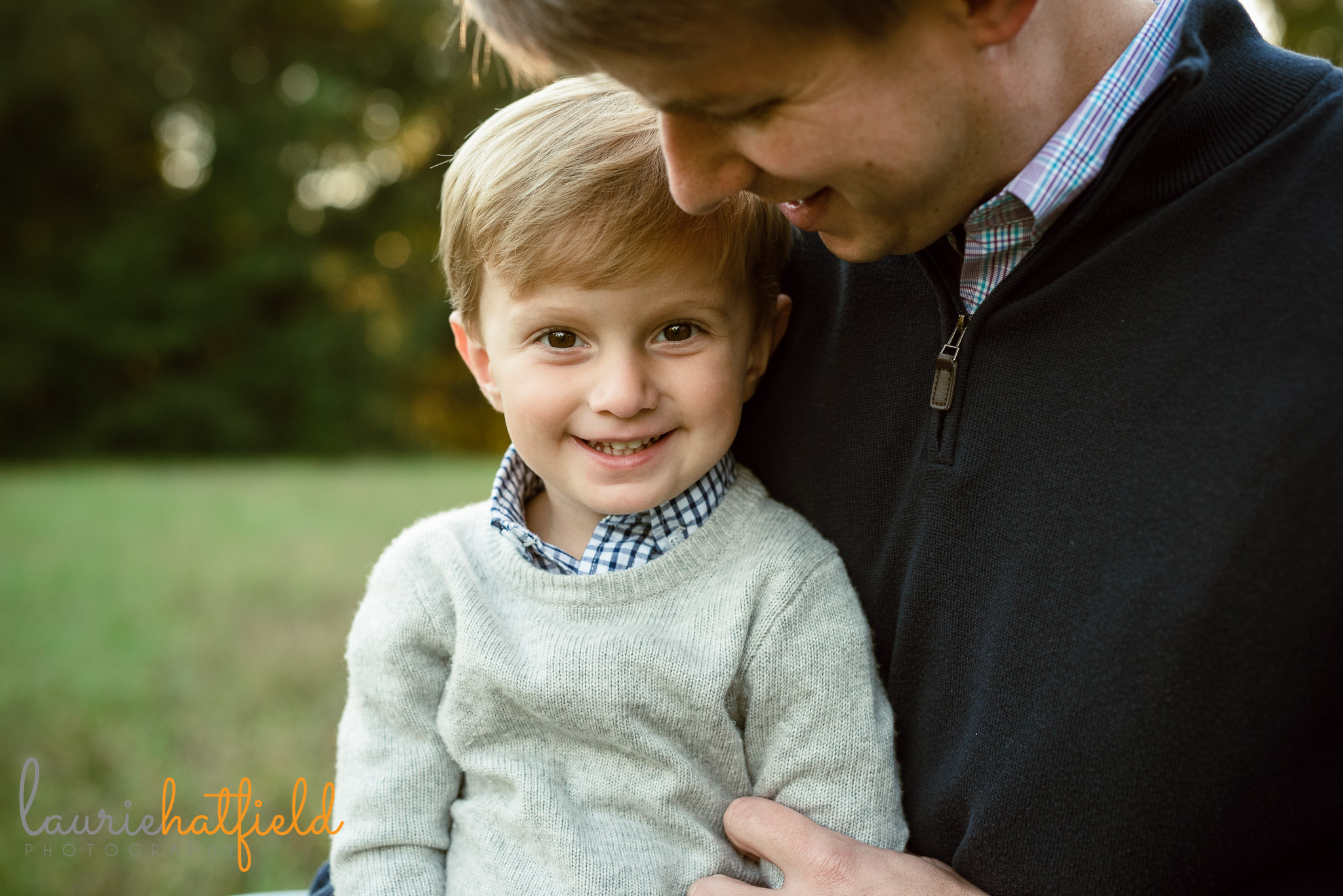 dad with 3-year-old son | Mobile AL family photography
