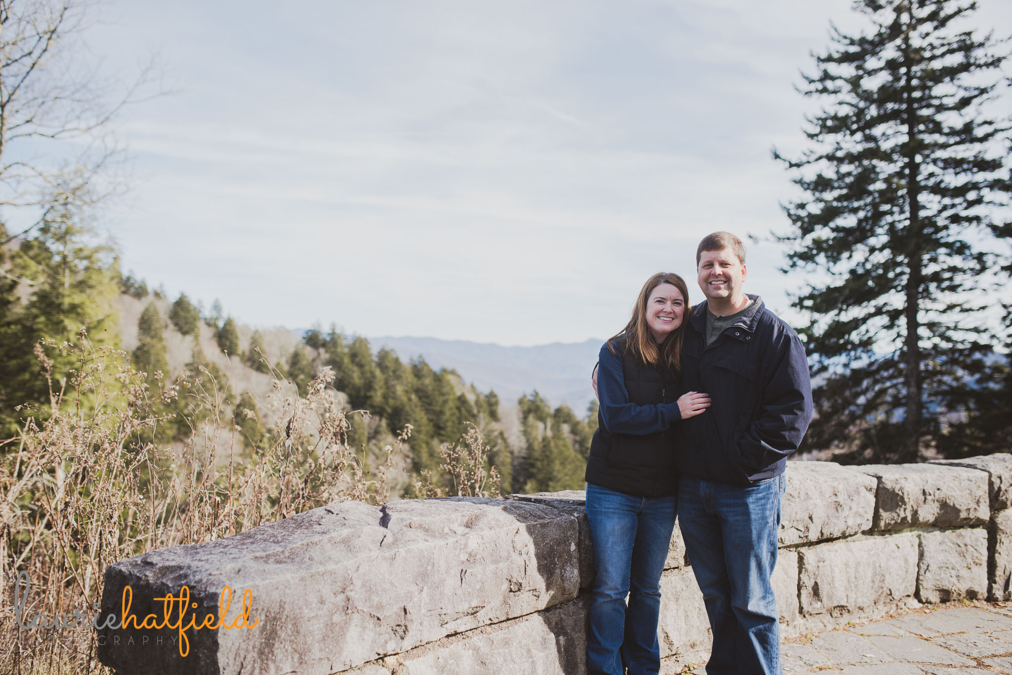 couple at Great Smoky Mountains | Mobile AL family photographer