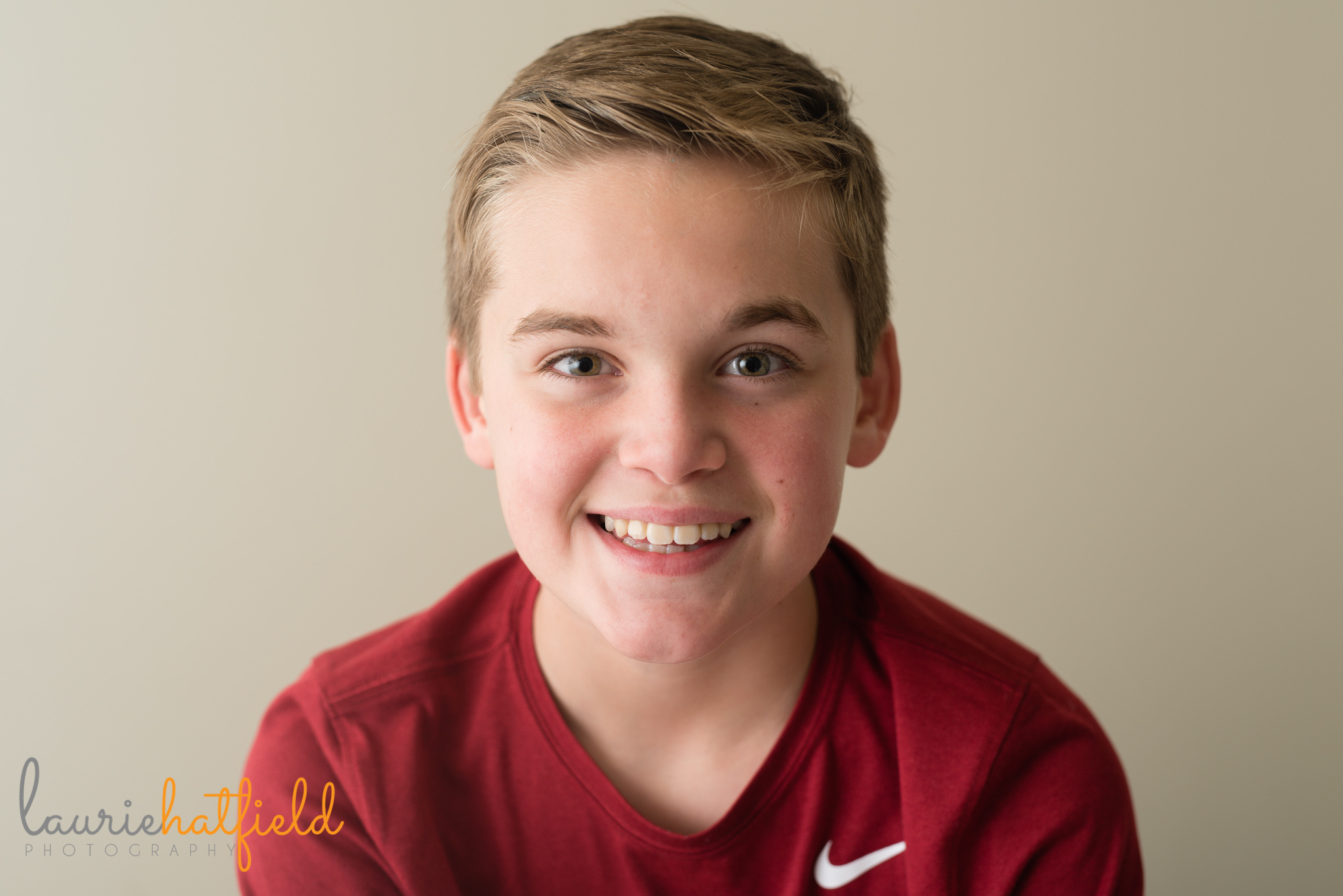 portrait of 11-year-old boy | Mobile AL family photographer