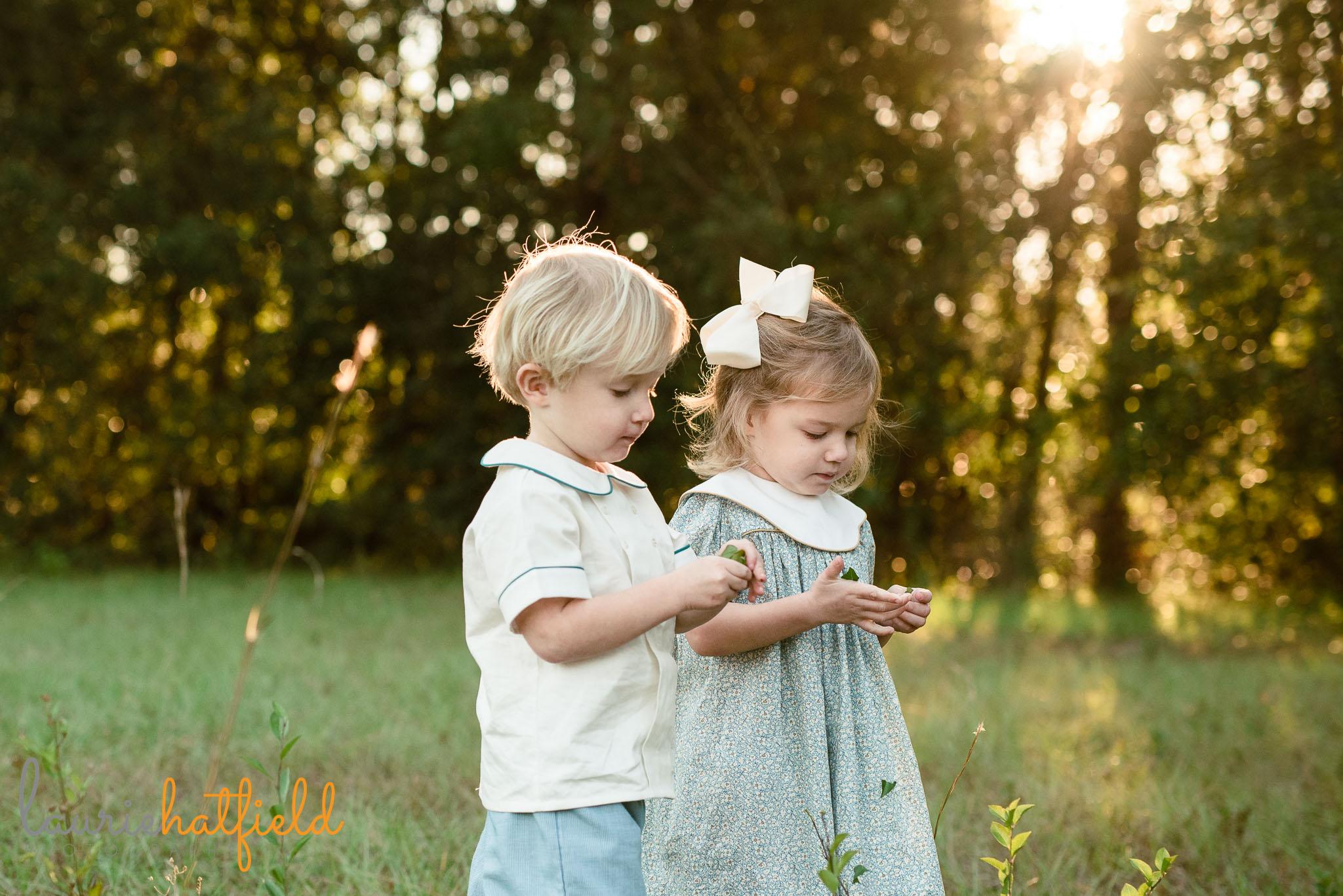 3-year-old boy girl twins | Saraland AL family photographer