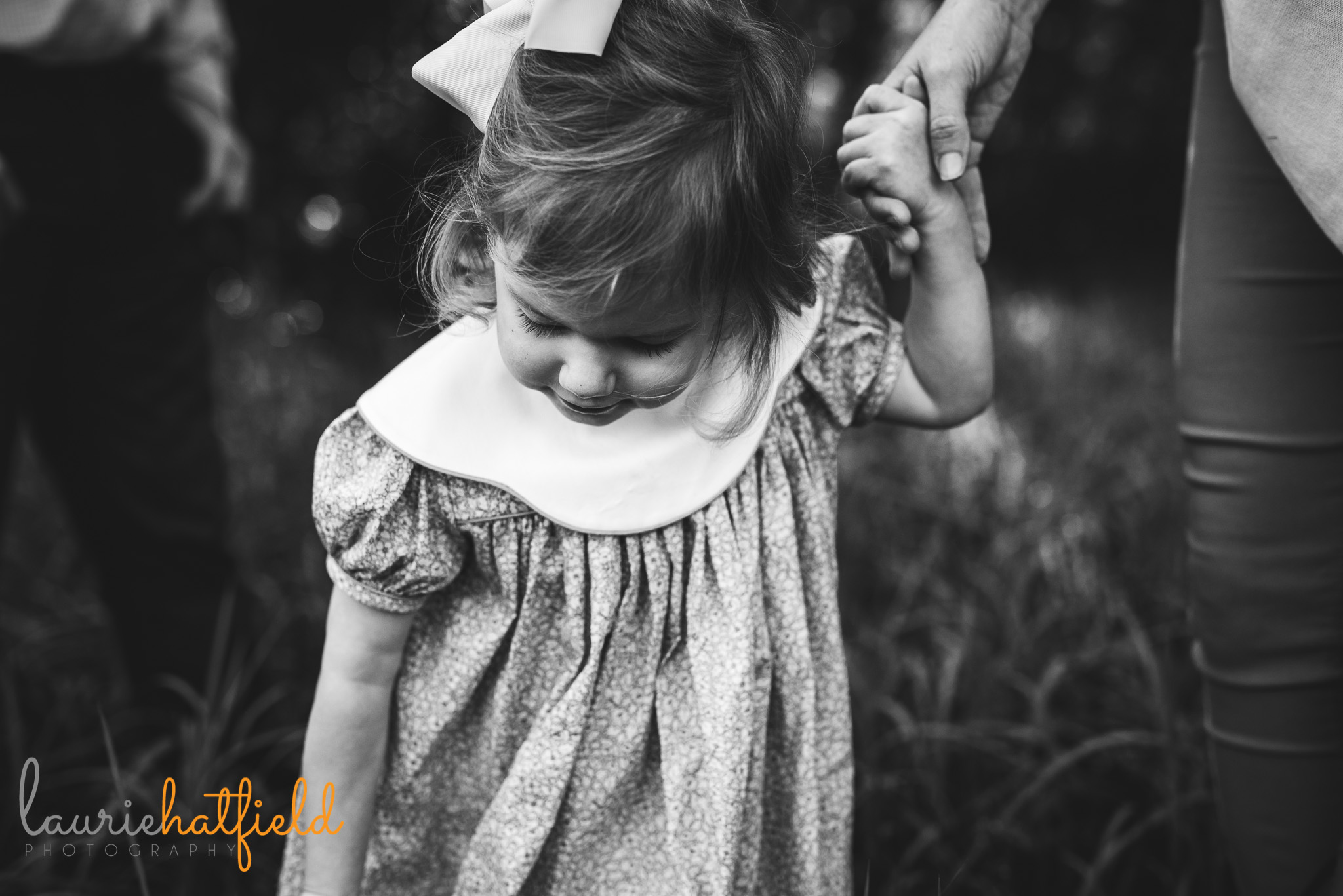 3-year-old little girl in dress | Mobile AL family photographer