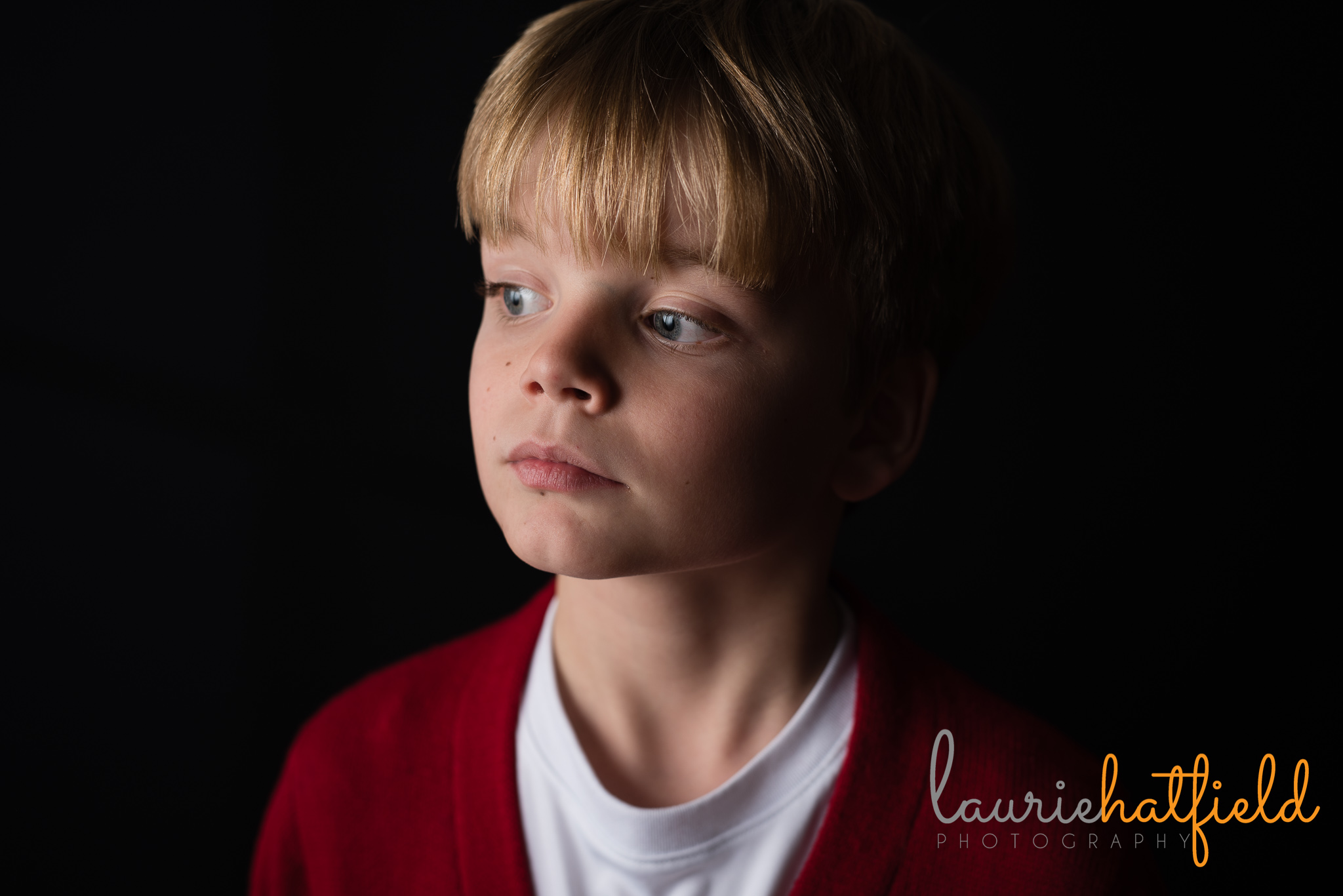portrait of 8-year-old boy | Mobile AL family photographer