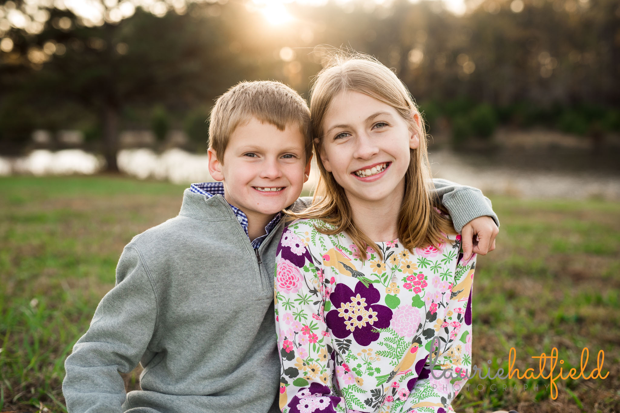 brother and sister | Mobile AL children's photographer