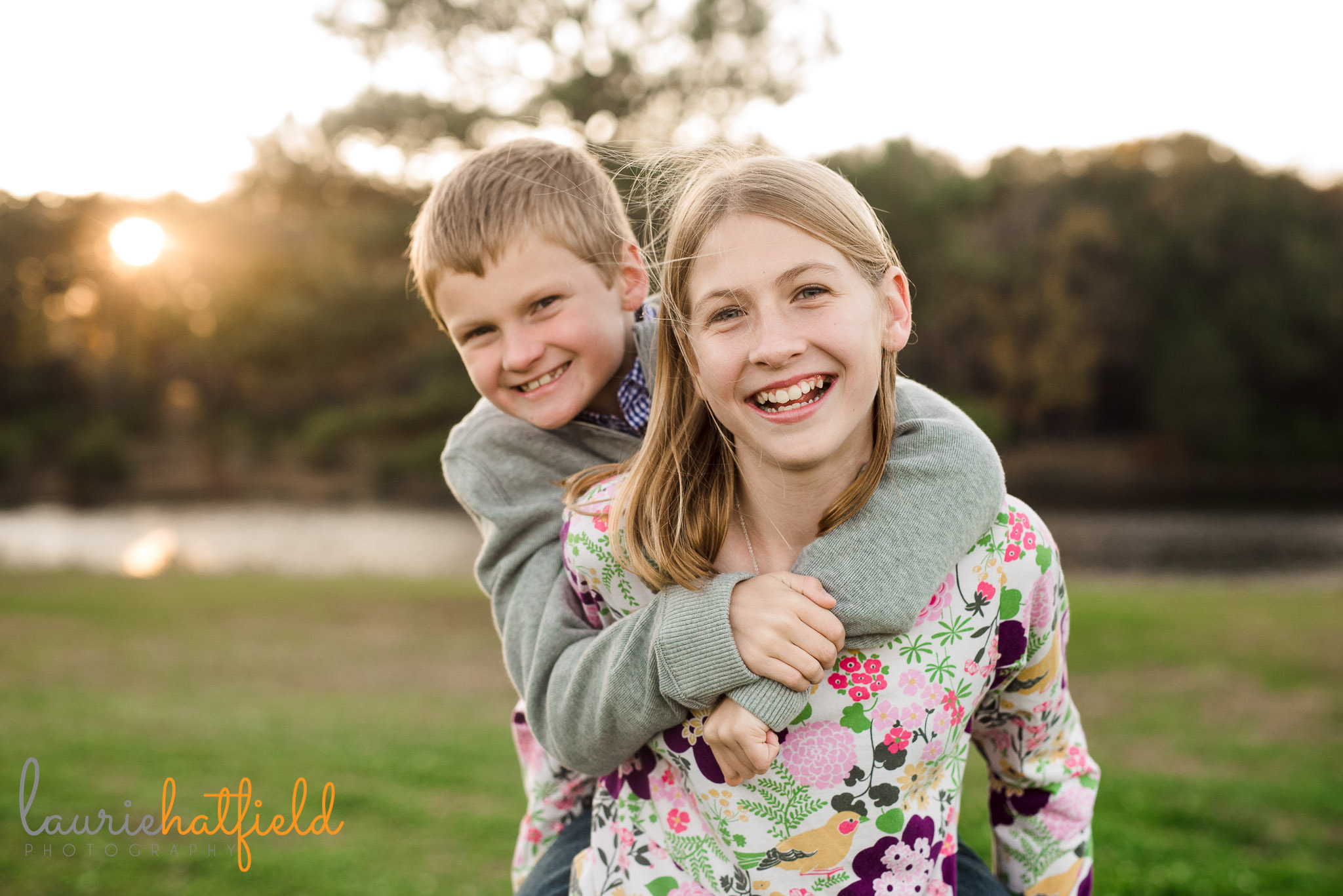 brother and sister | Fairhope AL family photographer
