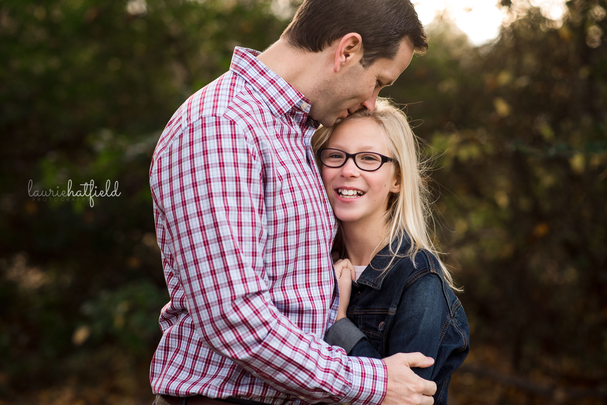 dad with preteen daughter | Mobile AL photographer