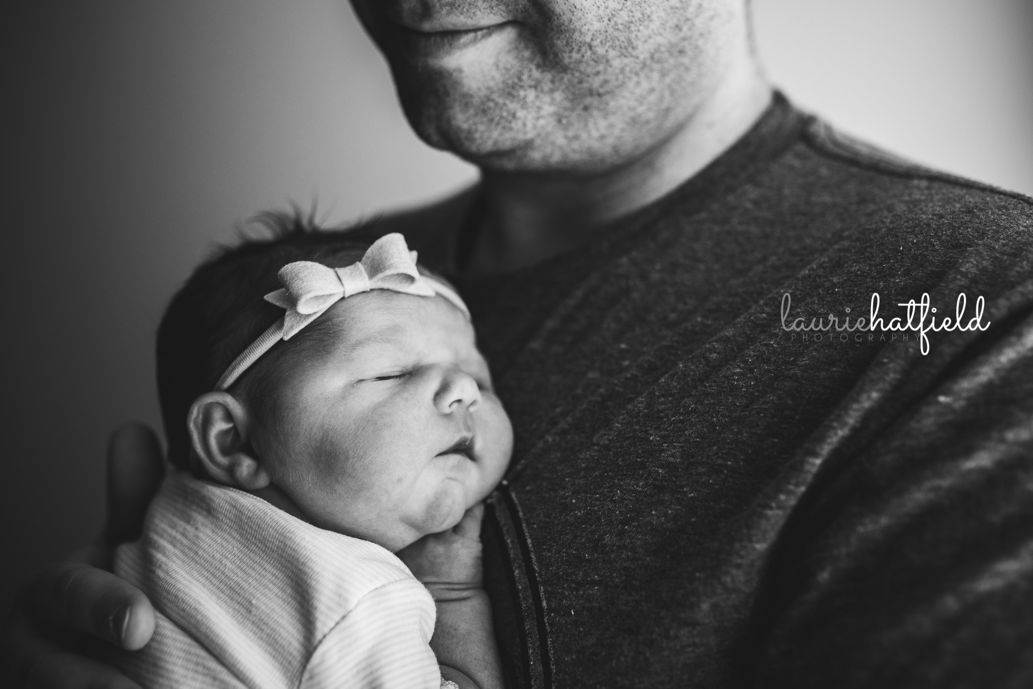 one-day-old baby girl | Mobile AL Fresh 48 newborn photographer