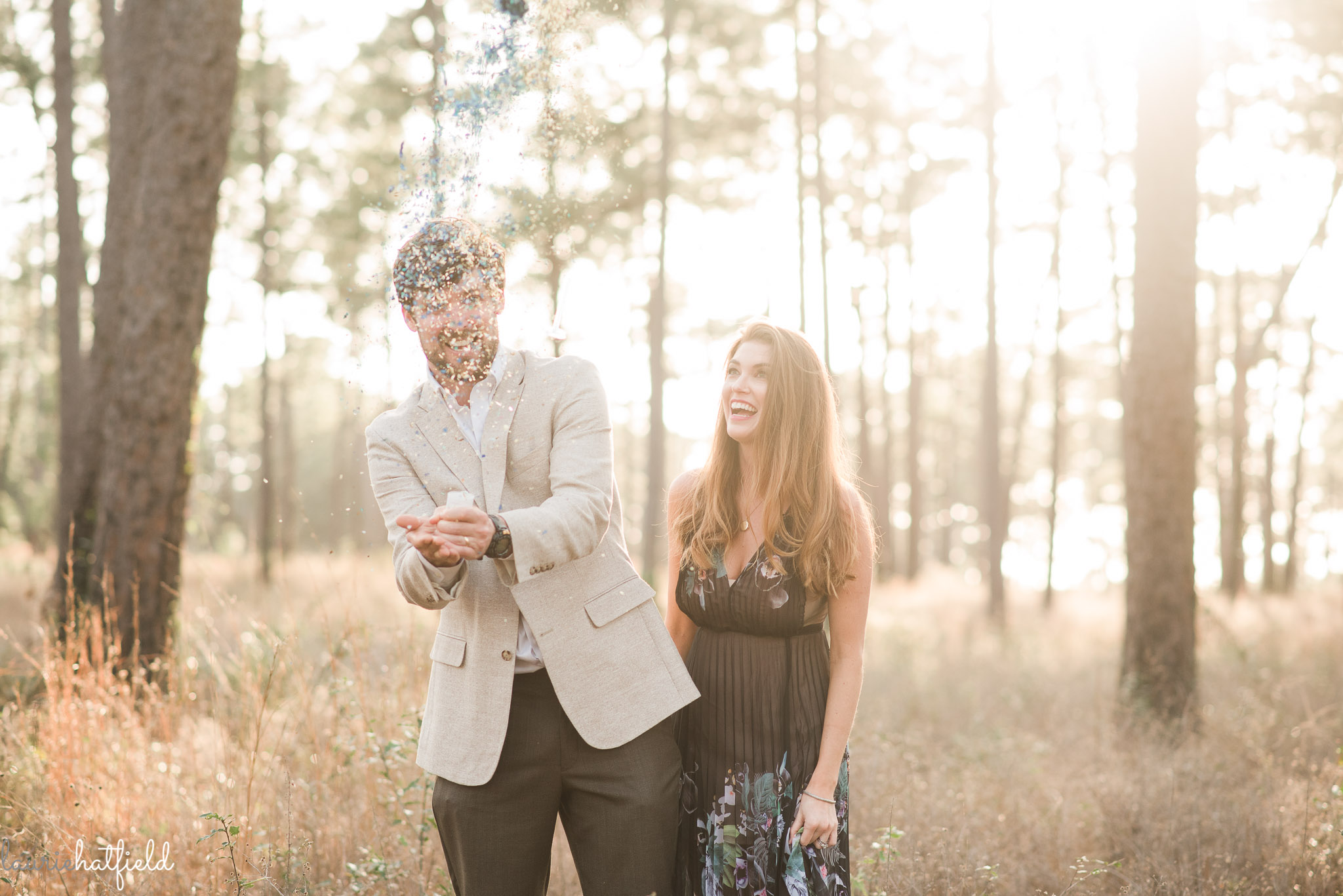 gender reveal photo ideas | Mobile AL family photographer