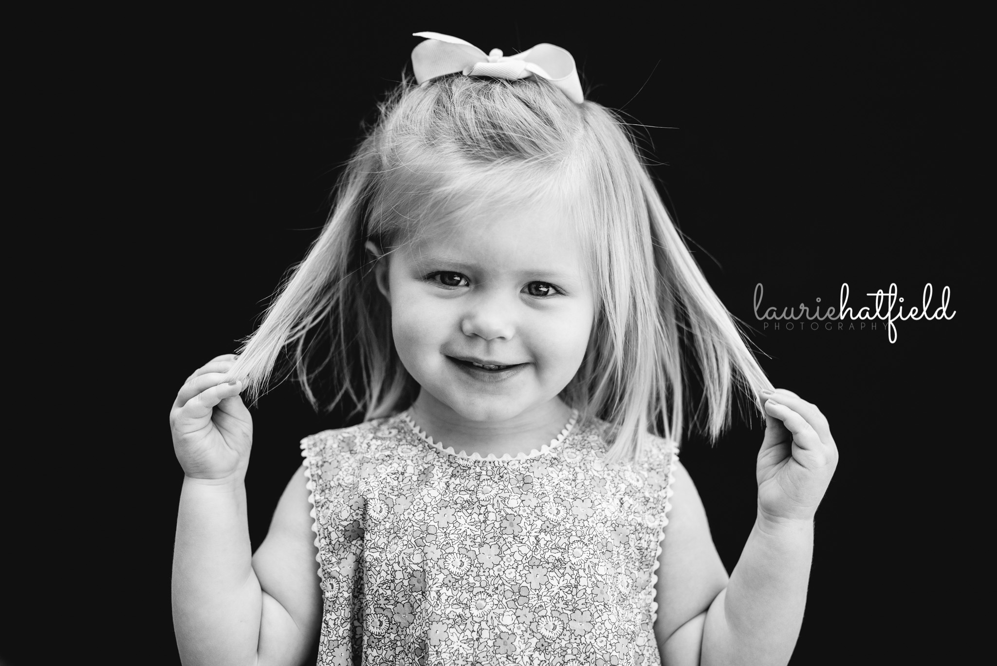 little girl with blonde hair | Gulf Shores AL school photographer