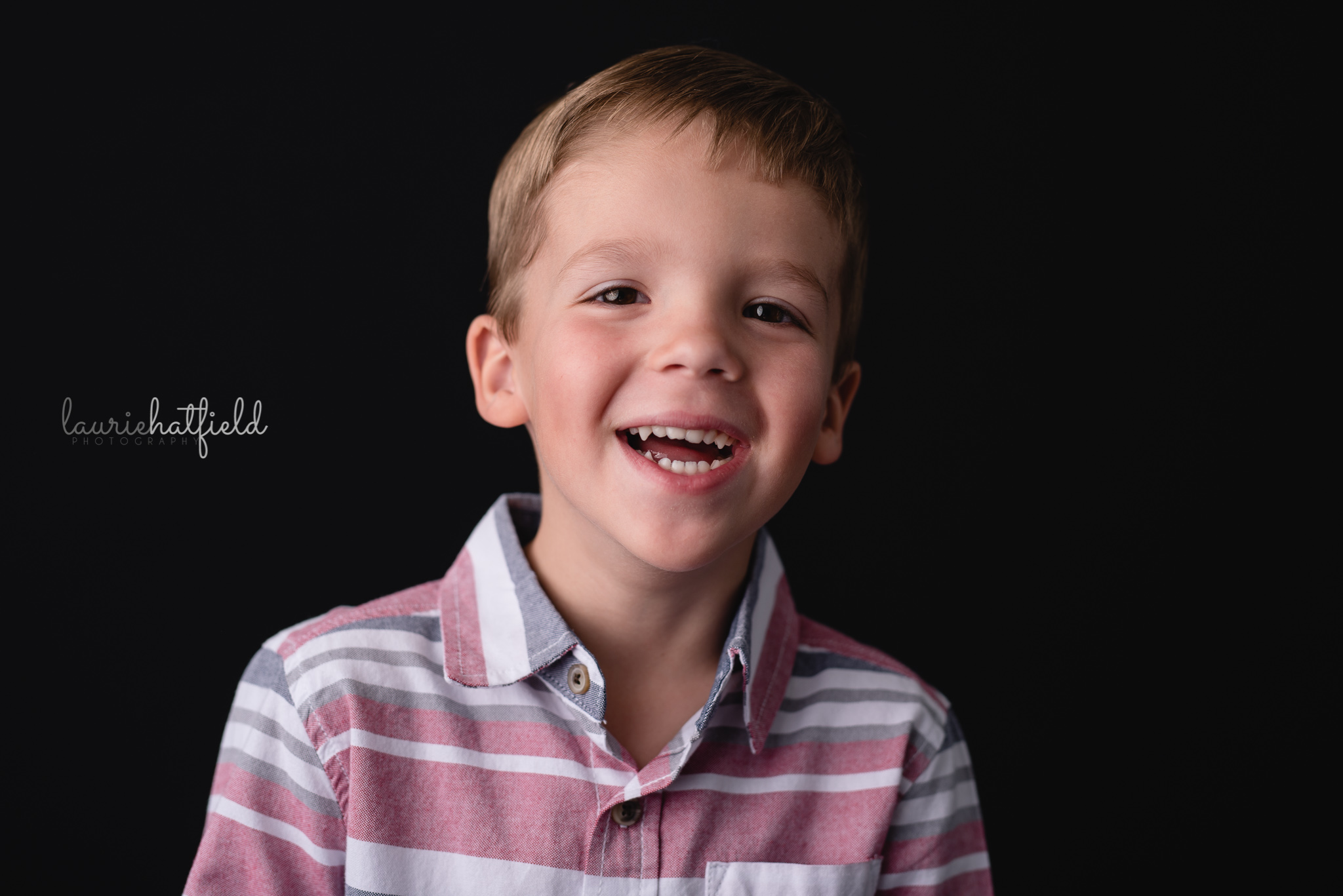 little boy laughing | Mobile AL private school photographer