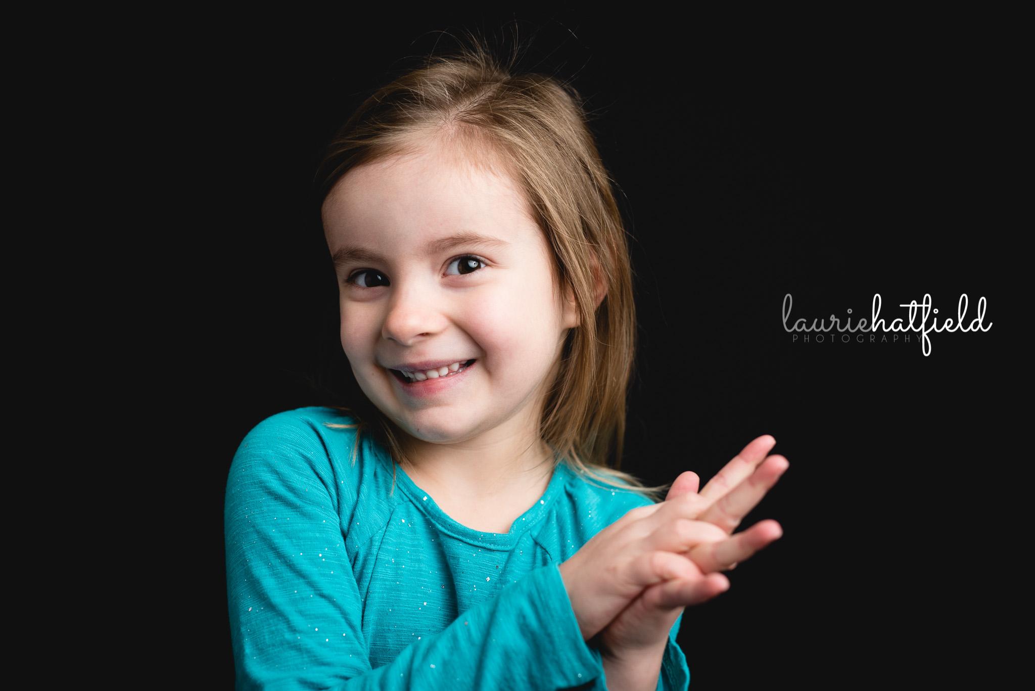 girl in teal dress | decatur al school photographer