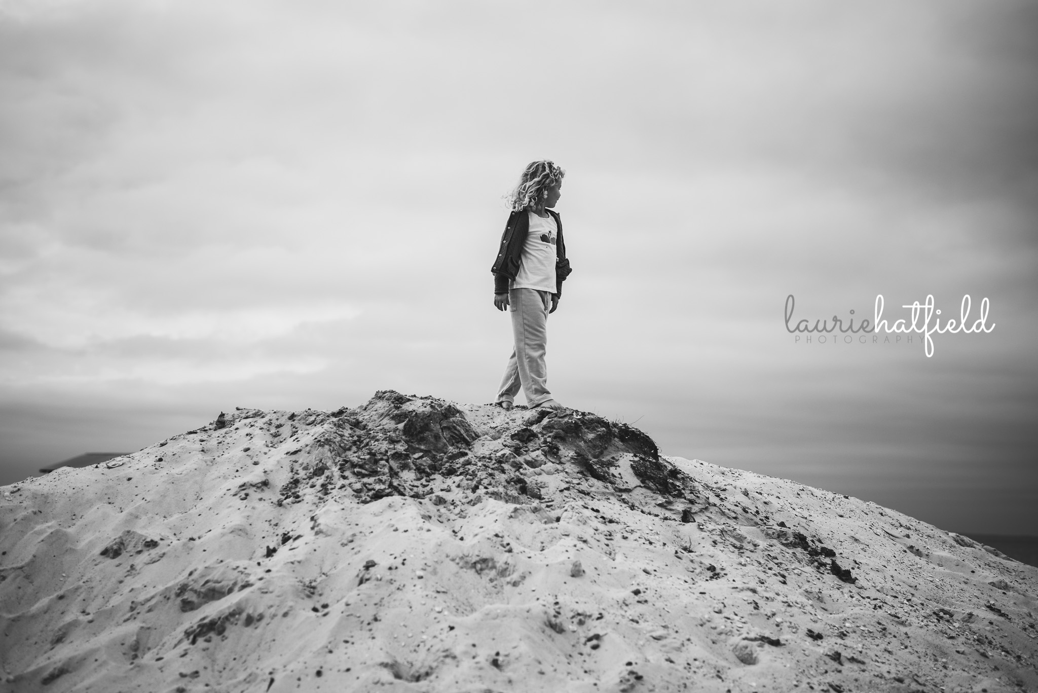 little girl on sand dune | Huntsville AL photographer