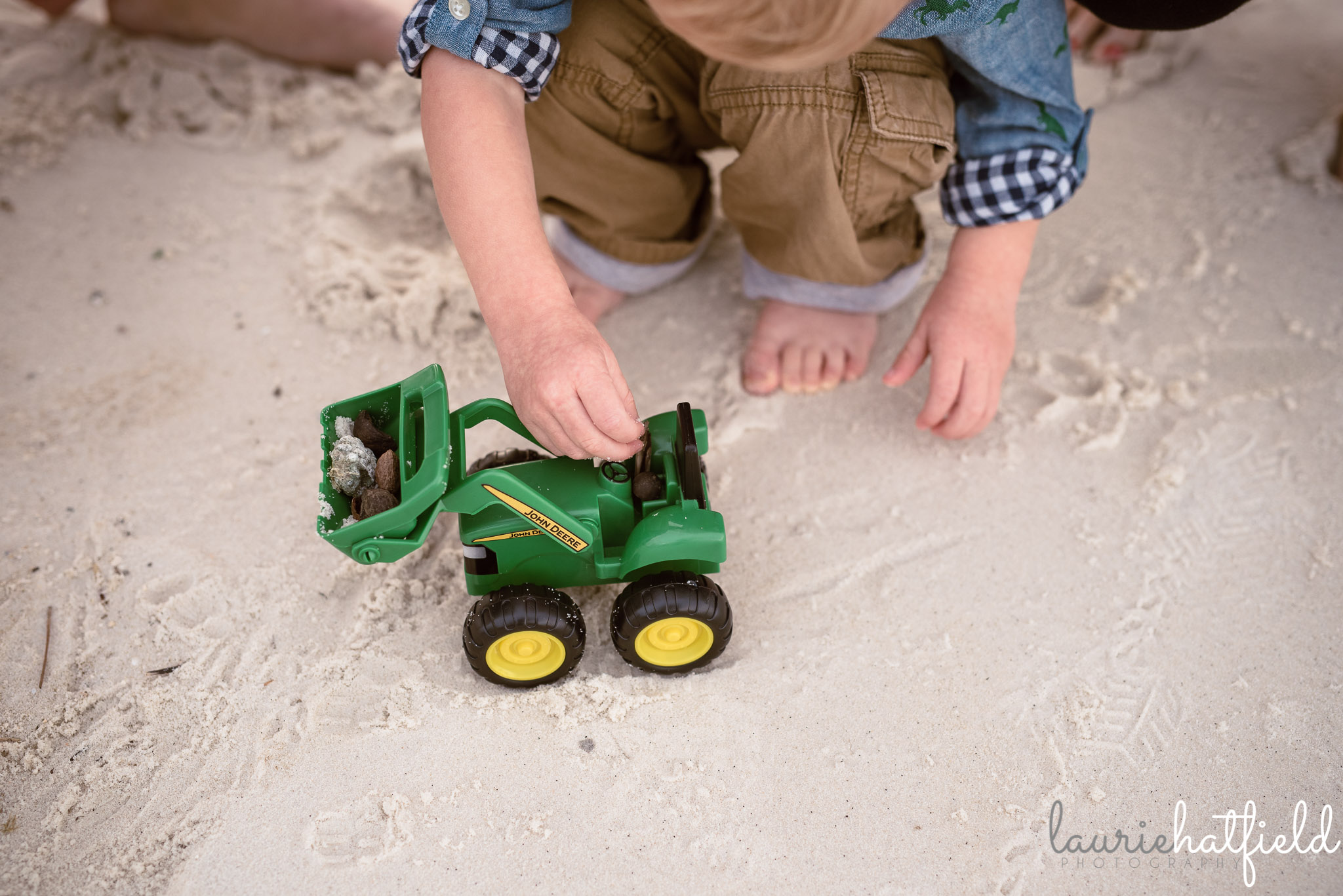 little boy playing in the sand | Huntsville AL family photography
