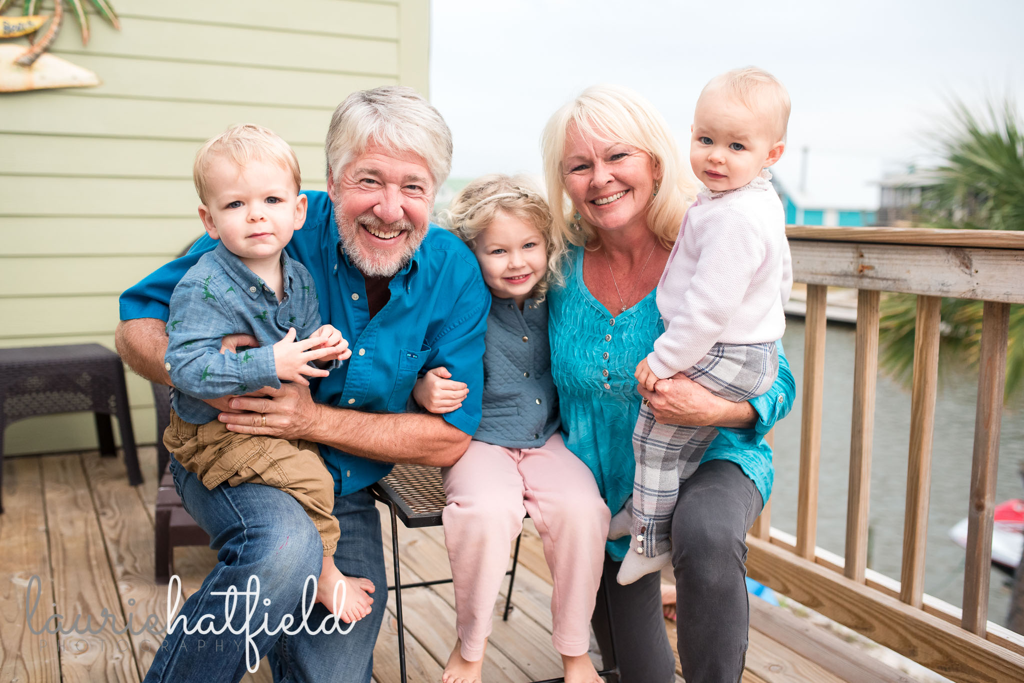 grandparents with grandchildren | Huntsville AL family photographer