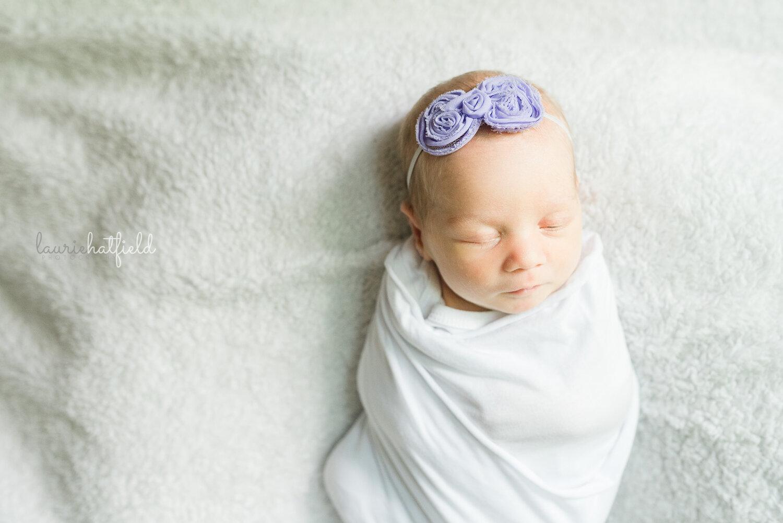 baby girl   Decatur AL newborn pictures