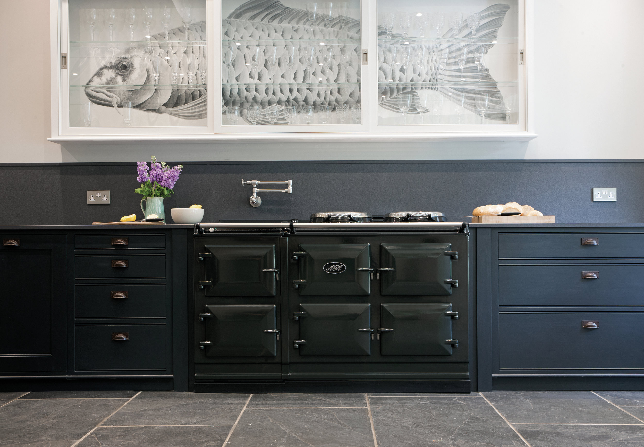 AGA Total Control 5-oven cooker in Pewter
