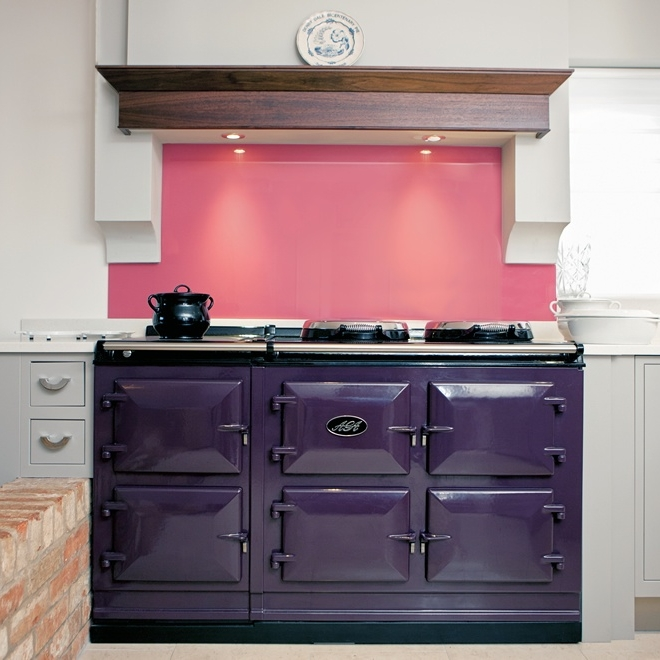 AGA Total Control 5-oven cooker in Aubergine
