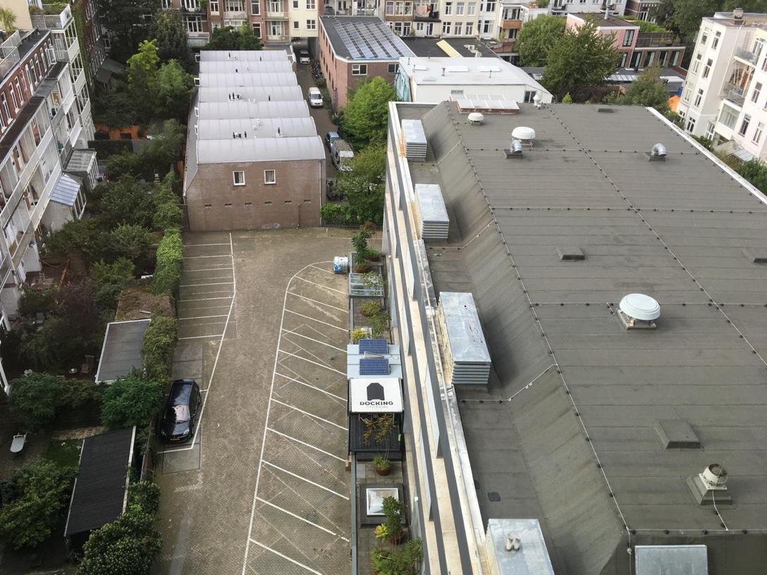 自人民飯店頂樓俯瞰 Docking Station ©羅晟文攝影