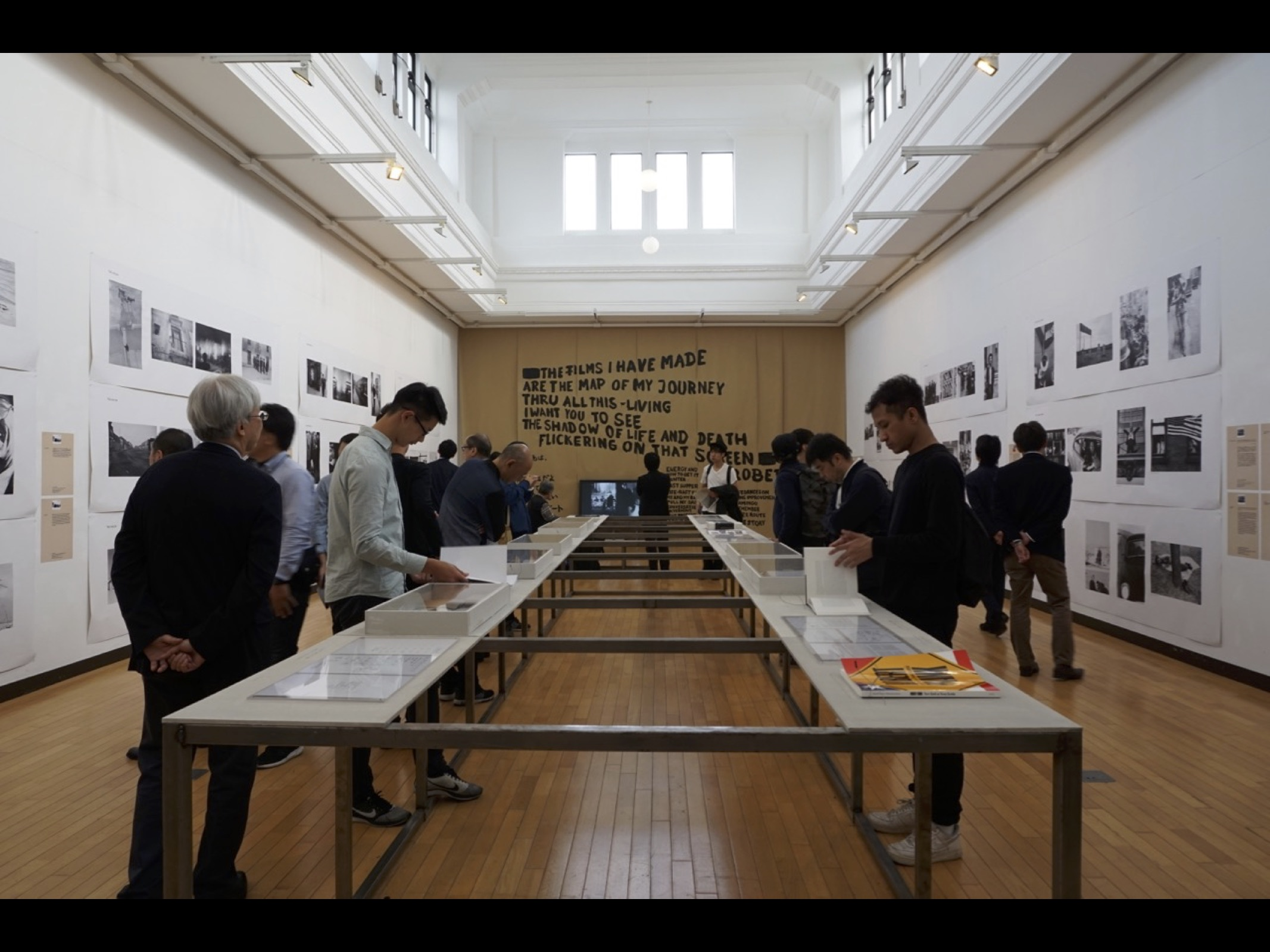 Robert Frank: Books and Films: 1947-2016 in Tokyo 展場一隅