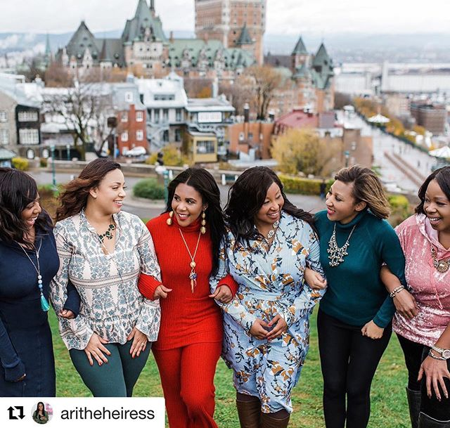 So grateful for these women who encourage me to think beyond limitations. @aritheheiress thank you for these amazing travel adventures.  #Repost @aritheheiress with @get_repost ・・・ I'm so thankful to be surrounded by women who celebrate, motivate and help each other succeed. Today you can accomplish anything you set your mind to. Keep pushing, keep rising, keep being the beautiful woman you are!! Happy #internationalwomensday 👩🏻👩🏼👩🏽👩🏾👩🏿 #quebeccity #girlpower #travelblogger #orlandoblogger #quebecphotographer