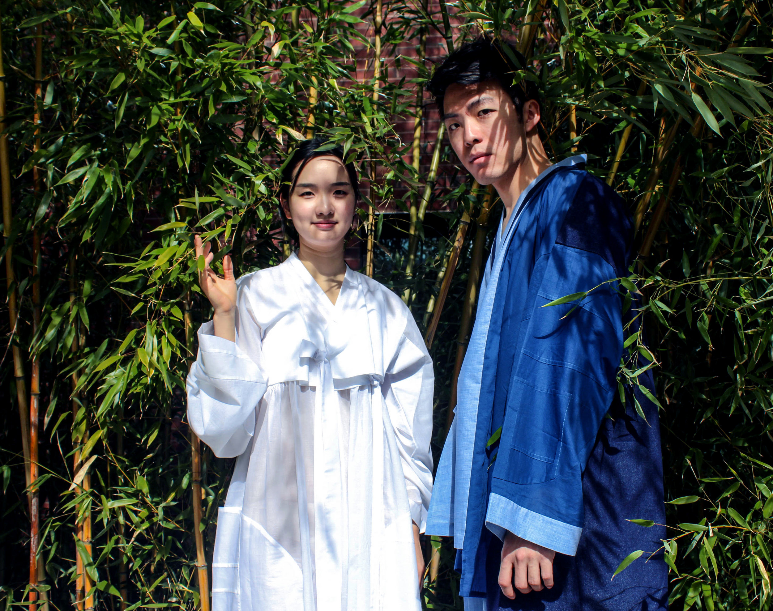 Hanbok - traditional Korean clothing