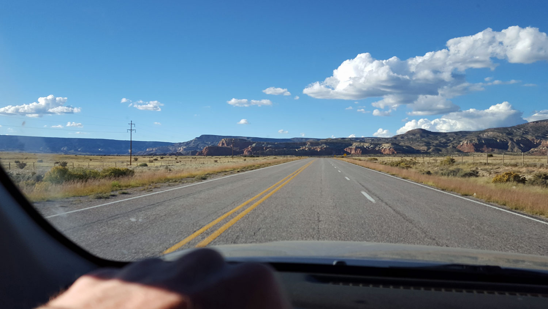 Abiquiu New Mexico clay